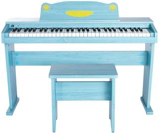 Piano Electrico Niños Banqueta Auricular Pedal Artesia Fun1