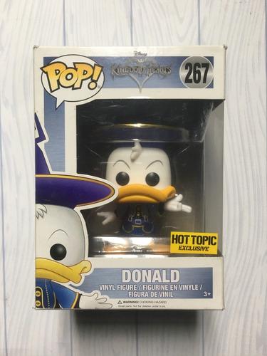 Funko Pop! Kingdom Hearts - Donald Hot Topic #267