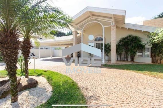 Casa Para Venda Em Campinas, Alphaville - Campinas - 1.500 Ms De Terreno - 600 Ms De Área Construída - Ca03898 - 34368064