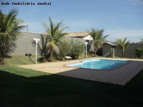 Casa Para Venda E Locação Em Condominio Fechado Em Jundiai Contendo 4 Dormitórios Sendo 3 Suítes (1 Master), - Ca00555 - 1410448