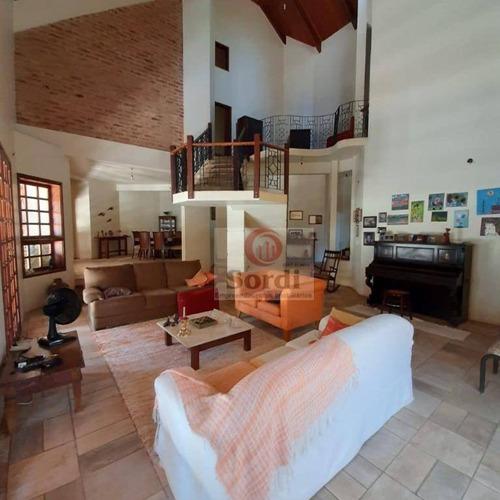 Sobrado À Venda, 600 M² Por R$ 1.800.000,00 - Jardim Canadá - Ribeirão Preto/sp - So0503