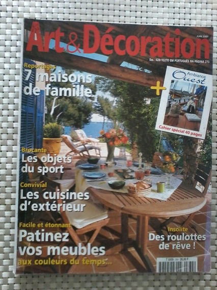 Revista Art Et Decoration - No. 384 - Textos Em Português