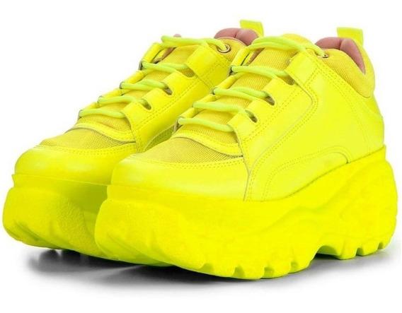 Tênis Sneaker Buffalo Feminino Vicerinne Plataforma Conforto