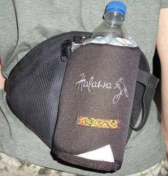 Riñonera Hidratacion Porta Botella Halawa Running Trekking