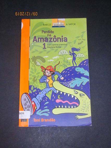Livro Perdido Na Amazônia 1 Dan Contra A Terrível Doutora...