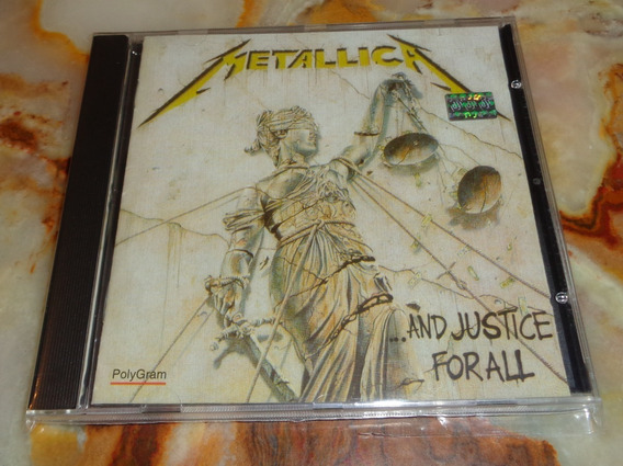 Metallica - And Justice For All - Cd Germany