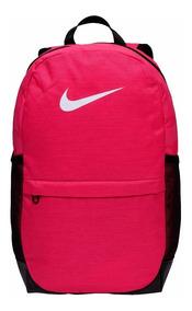 Mochila Infantil Nike Brasilia Rosa Original Ba5473666