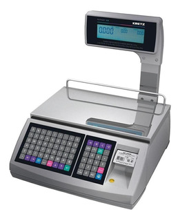 Balanza comercial digital Kretz Report NX 30 kg con mástil 100V - 240V
