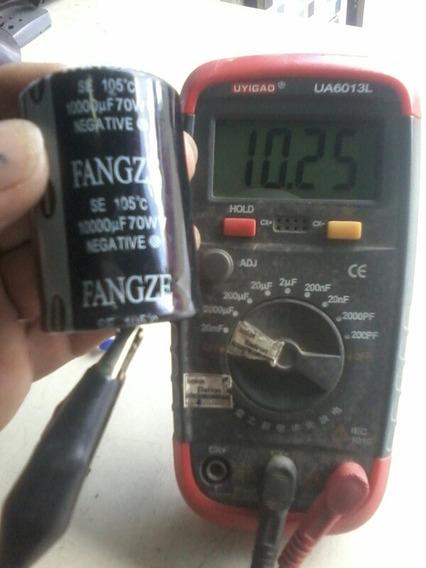 10 Capacitores Eletrolitico 10000x70v P/ Fonte