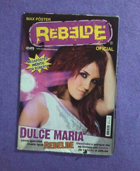Rbd Dulce Maria Roberta Revista Megapôster Rebelde Ano1 No.4
