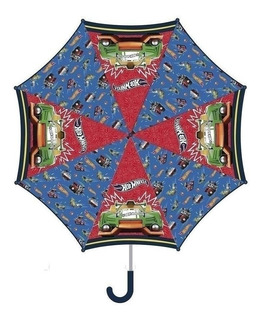 Paraguas Infantil Hot Wheels Hw240 Con Licencia Original