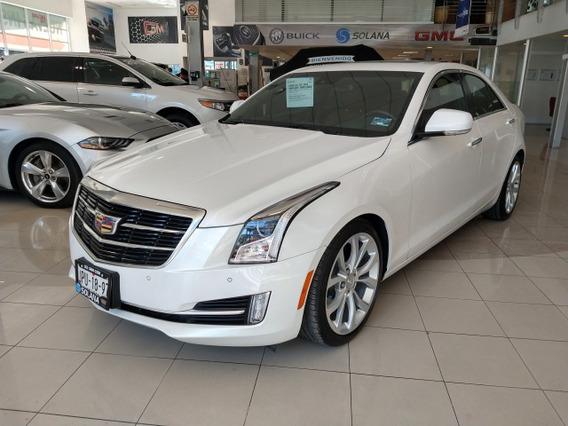 Cadillac Ats Sedan Paq. C. 2018 Cristal White