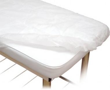 Lençol Branco 2,10x0,90m 20gm² Com Elástico