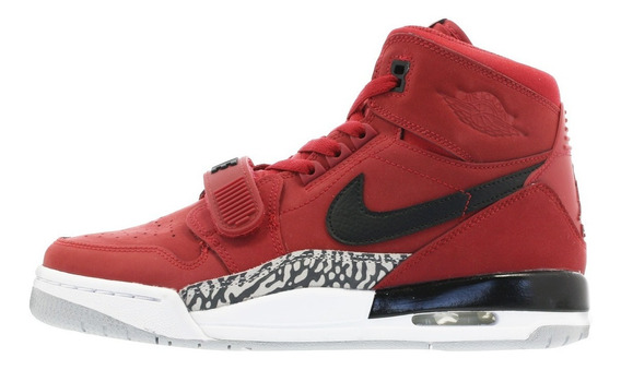Nike Jordan Legacy 312 Gs Red Basquet Bota Mayma Sneakers
