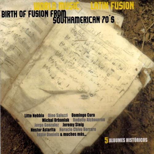 Litto Nebbia - Birth Of The Fusion (importado) - 3cd