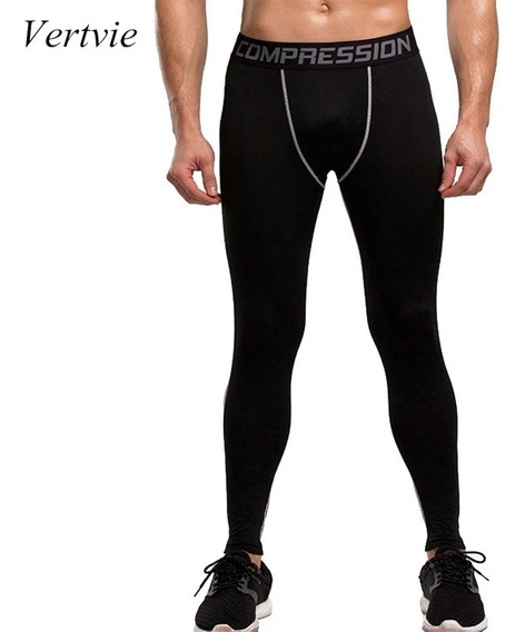 Pantalón Compresión Ejercicio Leggings Hombre