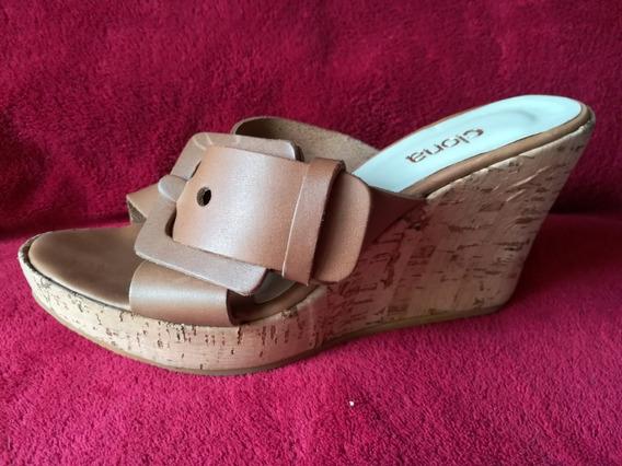 Zapatos Taco Chino Marca Clona Nº 40