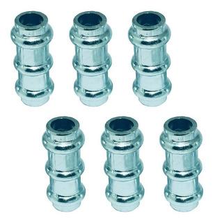 40 Tucho Lança Em Aluminio P/ Meio De Portão E Grade 5/8