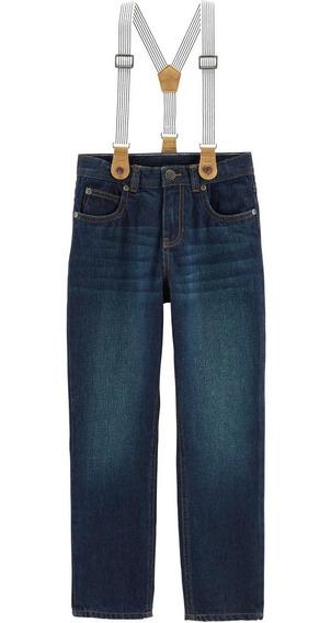Pantalón Carter´s Jean Talle 4, 8, 12 Y 14 Años C/ Tiradores