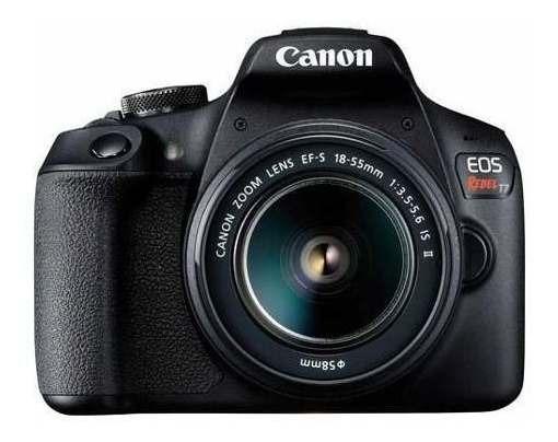 Câmera Digital Canon Eos Rebel T7 Dslr 24.1 Mp 3 2727c010aa