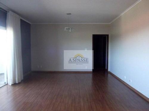 Apartamento Com 3 Dormitórios À Venda, 130 M² Por R$ 390.000,00 - Jardim Paulistano - Ribeirão Preto/sp - Ap0308