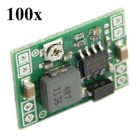 Mp1584 Step Down Conversor Dc Ajustável 3a 100 Unidades