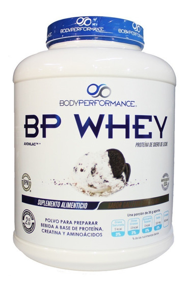 Proteina Body Performance Bp Whey 5 Lb Galletas Con Crema