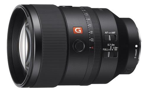Lente Sony Full Frame Tele Fe 135mm F1.8 Gm - Sel135f18gm