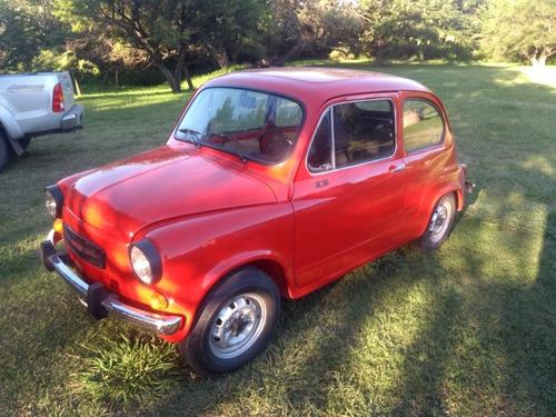 Fiat 600 S De Coleccion Tapizados Motor Etc De Fabrica