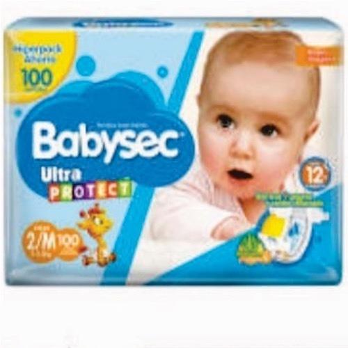 Pañales Babysec 2 M X 100 - Unidad a $619