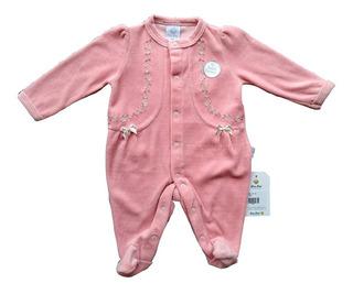 Macacão Plush Para Bebês - Florzinha - Piu Piu Bebe