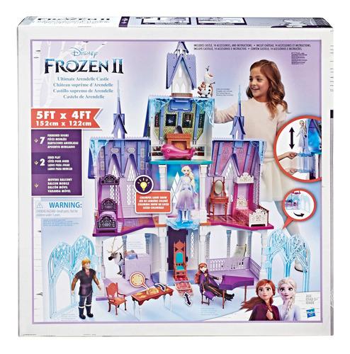Castillo De Arendelle Para Muñecas Frozen 2 Disney