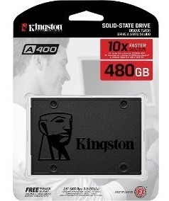 Hd Ssd Kingston 480gb 6gb/s A400 Pc Notebook Computador