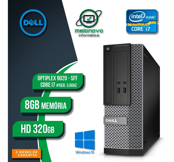 Cpu Dell Optiplex 9020 Sff - I7 3.6ghz 8gb 320gb