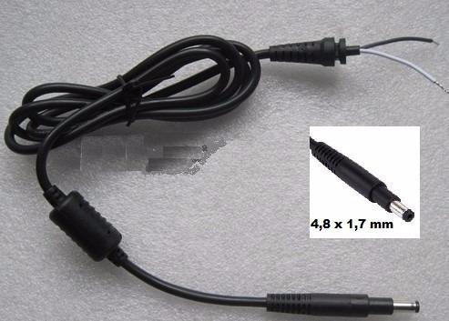 Punto Tecno - Cable Dc Punta Larga Para Cargador Hp 4,8x1,7