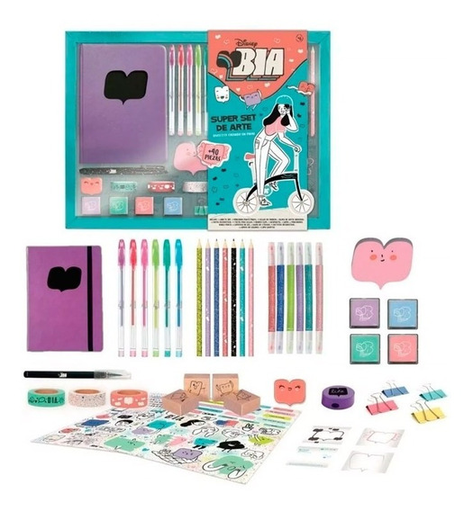 Super Set De Arte Bia Serie Disney 161 Magic Makers
