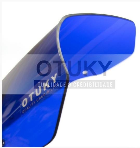 Bolha Para Yamaha Xt 660 2004 A 2016 Azul Anil - Otuky