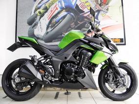 Kawasaki Z1000 Abs 2011 Verde