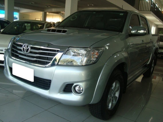 Toyota Hilux 3.0 Srv Prata 4x4 Cd Diesel 4p Aut. 2015