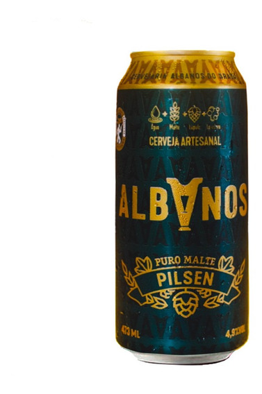 Cerveja Albanos Pilsen 473ml