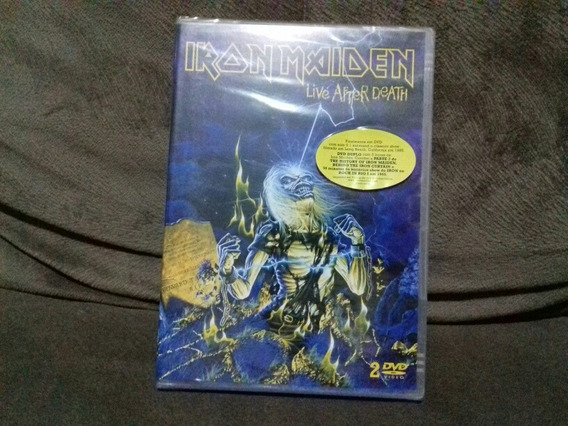 Dvd Iron Maiden - Live After Death Duplo 1985 Nacional