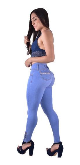Jeans Dama Pantalones Mujer Colombiano 10 Piezas Lift-pomps