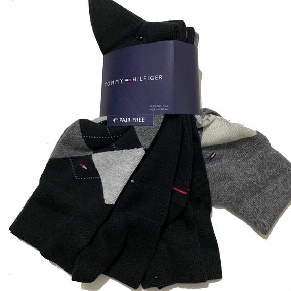 Calcetines Tommy Hilfiger 4 Par 100% Original Mens