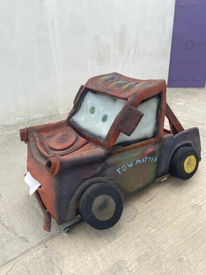 Botarga De Exhibición Mate De Cars
