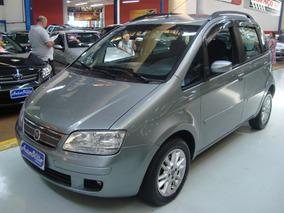 Fiat Idea Elx 1.4 Flex Cinza 2010 (completo + Rodas + Som)