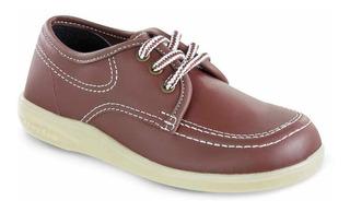 Zapato Colegial Bachiller Rojo Unisex Croydon