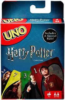Juego De Cartas Mattel Games Uno Harry Potter