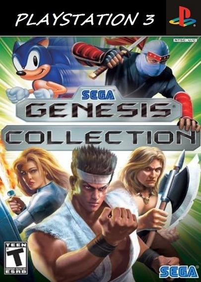 Sega Genesis Collection Clássico Ps2 Para Ps3 Envio Imediato