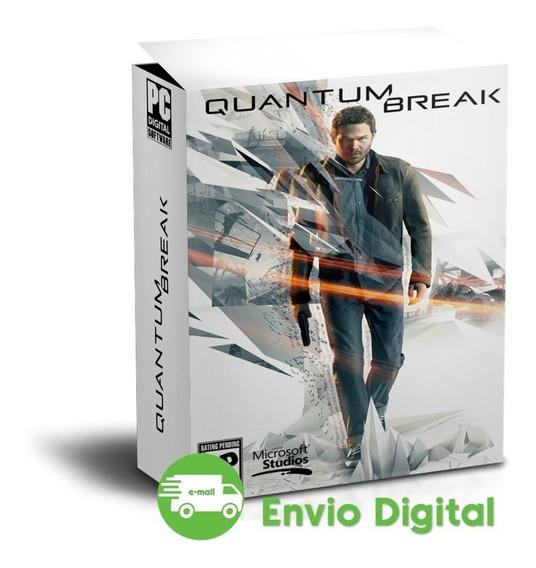Quantum Break - Pc - Mídia Digital - Envio Imediato