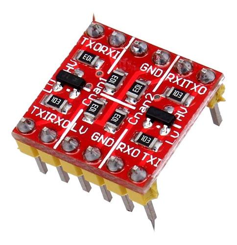 Convertidor Adaptador Niveles Logicos 5v 3v3 Arduino Ttl